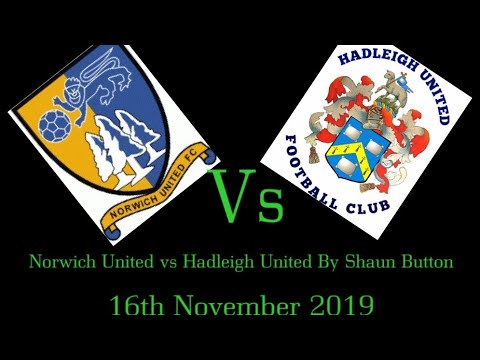 Norwich United Football Club vs Hadleigh United Football Club || Thurlow Nunn Premier Division clash