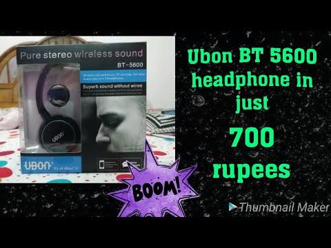 33cb4616258 UBON BT-5600 Wireless headphone - смотреть онлайн на Hah.Life