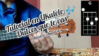 Dices que te vas Karol G, Anuel AA tutorial como tocar la canción en Ukulele 🎶