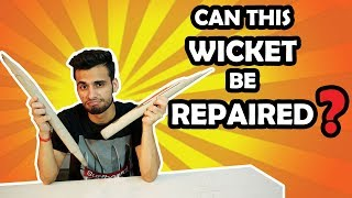 How To Repair Your Cricket Accessories  In Hindi !!