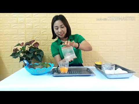 Thực hành kỹ năng vắt nước cam
