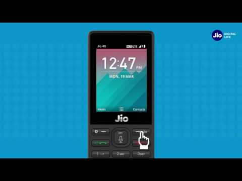 How to manage JioAccount & services?