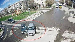ДТП в Серпухове. Ни дня без аварии на Коварном перекрёстке... 28 апреля 2018г.