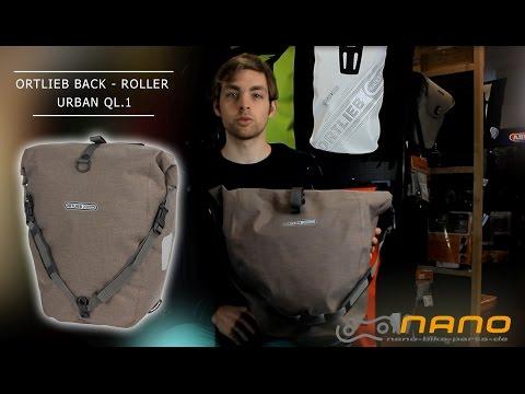 Ortlieb Back - Roller Urban QL 2.1 Fahrrad Gepäckträgertasche