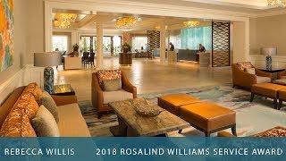 2018 Rosalind Williams Service Award