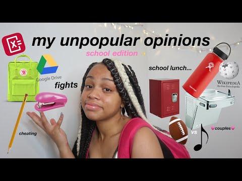 my unpopular opinions: back to school edition | seasonsofshai