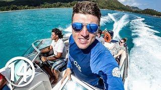 Вилла Дэвида Бекхэма на Сейшелах. Райские острова и подводный мир