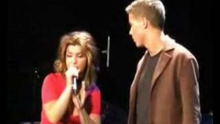 Arno Diem et Kim Sous le vent Garou-Céline Dion