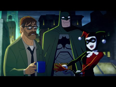 Jim Gordon's portrayal in the new Harley Quinn series is great