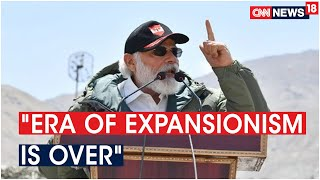 PM Modi: Era Of Expansionism Is Over, We Are In The Age Of Progress | CNN News18 - Download this Video in MP3, M4A, WEBM, MP4, 3GP