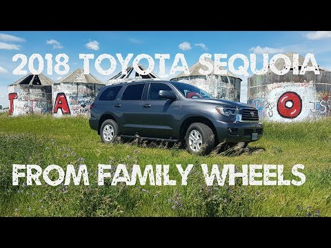 2018 Toyota Sequoia review from Family Wheels