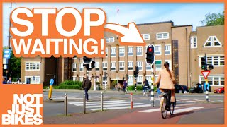 Why The Dutch Wait Less At Traffic Lights