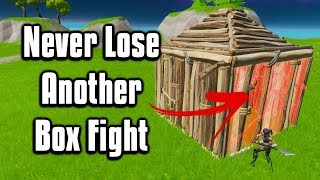 How To Box Fight Like A Pro!   Fortnite Battle Royale Tips & Tricks