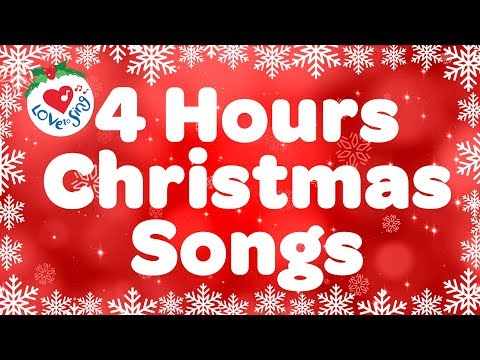 4 hours Best Christmas Songs Top Playlist   Merry Christmas