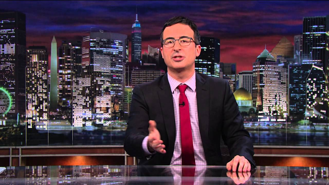 Watch John Oliver Read His Own YouTube Comments