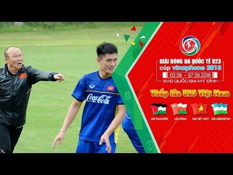 U23 Việt Nam tiếp tục tập luyện - chuẩn bị cho cuộc hội ngộ U23 Uzbekistan
