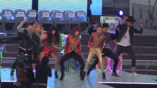 2NE1- Crush Rehearsal at ANTM