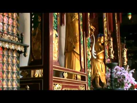 Молитва буддистских монахов. Арт путешествие в Китай