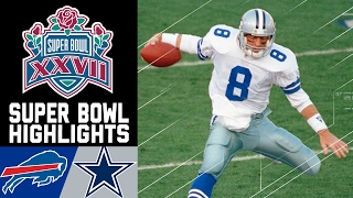 Super Bowl XXVII Recap: Bills vs. Cowboys | NFL