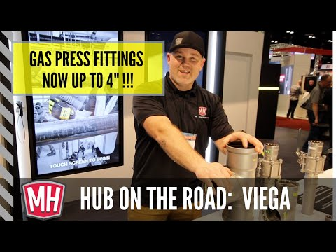 New MegaPress fittings & valves