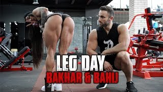 Bakhar Nabieva & Bahij Kaddoura - Leg Day Workout Explained