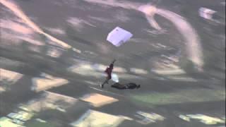 wingsuit formation Luigi, Tim and Jeb