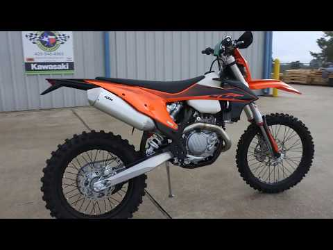 2020 KTM 500 XCF-W in La Marque, Texas - Video 1