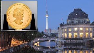Из берлинского музея похитили 100-килограммовую золотую монету