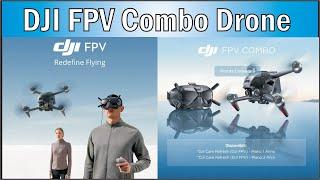 Remote Control Uav Quadcopter Long Range Distance 4K 60Fps DJI FPV Combo Drone.