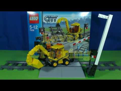 Vidéo LEGO City 7936 : Le passage à niveau