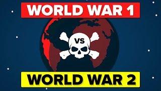 World War 1 VS World War 2   How Do They Compare?