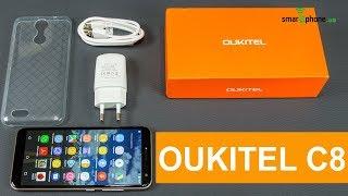 Смартфон Oukitel C8 Pink от компании Cthp - видео 2