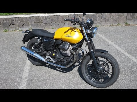 Moto Guzzi V7 Stone - Start up and Sound