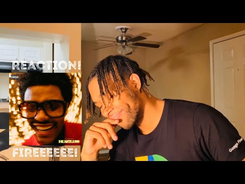 MAN! The Weeknd - Heartless (Audio) - REACTION!