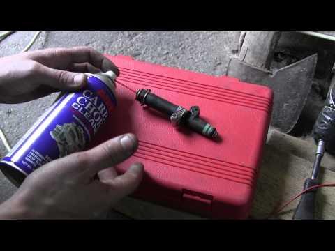 СВОИМИ РУКАМИ: Чистка форсунок инжектора своими руками