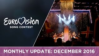 Eurovision Song Contest Monthly Update: December 2016