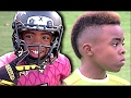 Bunchie Young Kid has Crazy Footwork and Speed