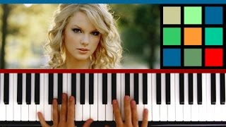 How To Play 'Blank Space' Piano Tutorial (Taylor Swift)