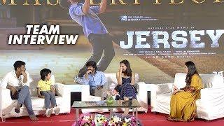 JERSEY Team Interview | Nani, Shraddha Srinath | Gowtam Tinnanuri
