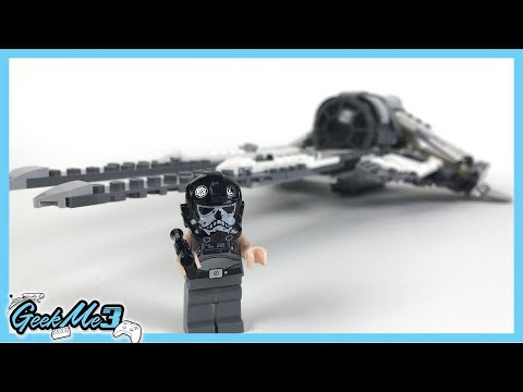 Vidéo LEGO Star Wars 75242 : Black Ace TIE Interceptor