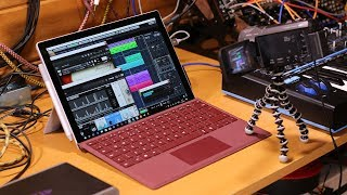 Surface Pro 2017 audio performance and reliability for music production