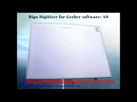 BẢNG SỐ HÓA HIPO DIGITIZER FOR GERBER SOFTWARE: A0