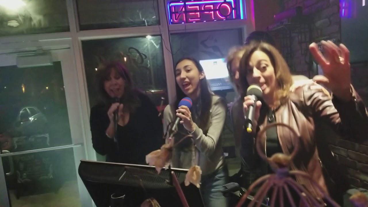 karaoke night - Girls Just Want To Have Fun
