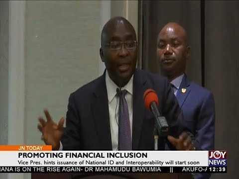 Promoting Financial Inclusion - Joy Business Today (16-4-18)