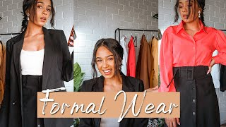 HOW TO: Formal Wear | Perfect For Work!