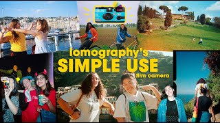My Favorite Disposable Alternative; Lomographys Simple Use Film Camera Review + How To Use & Reload