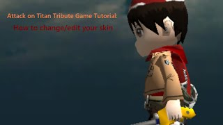 Attack On Titan Tribute Game Rc Mod Skins