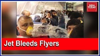 Horror Journey For Jet Airways Passengers After Cabin Pressure Drops Inside Flight | 5ive Live