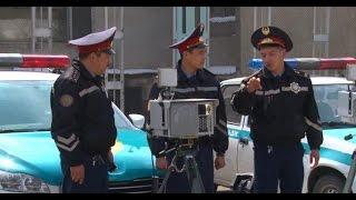 Полиция Алматы , калым на заправке
