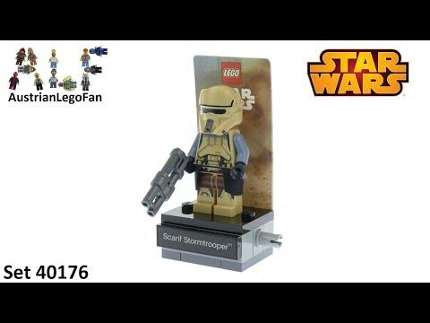 Vidéo LEGO Star Wars 40176 : Scarif Stormtrooper